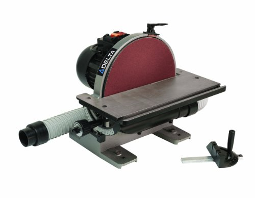 - Delta Power Equipment Corp 31-140 Disc Sander, 1/2 Horse Power, 12-Inch