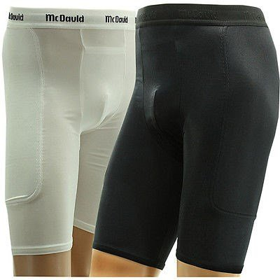 McDavid 721C Men's Black Baseball Softball Padded Sliding Shorts Small [Misc.] by McDavid