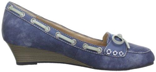 Queen Hcl0703 Denim, Women's Pumps Blue - Blau (Denim 10)