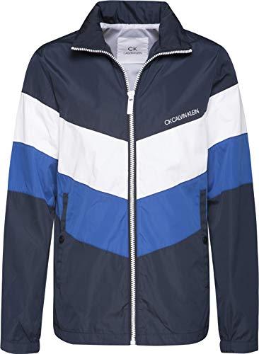 Calvin Multi Klein Blazer Navy 44 Inch Windbreaker Jacket aawdrF0q