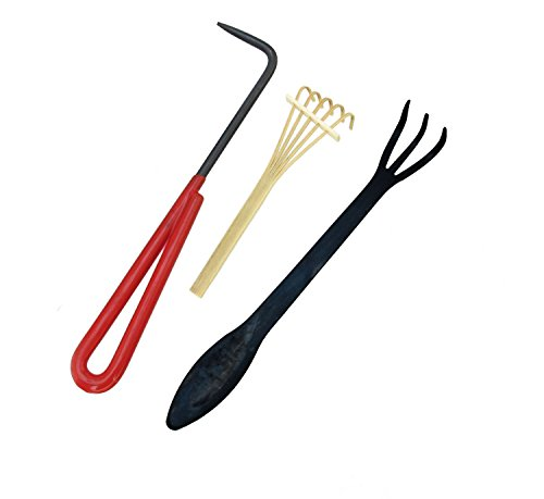 Free Mini Pick Set (BambooMN Brand - 3 Piece Root Set - 9