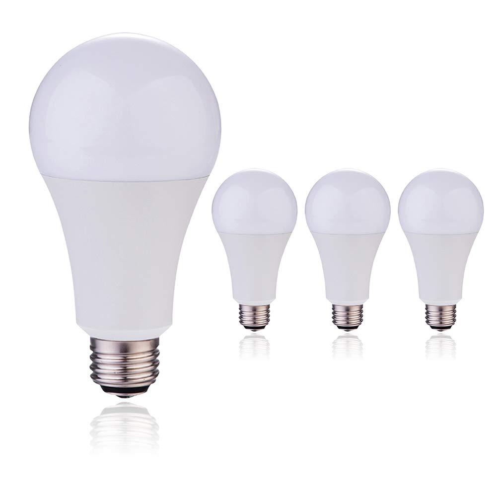 A21 3 Way Led Light Bulb 50w100w150w Equivalent 5000k Daylight