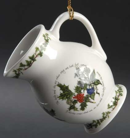 Portmeirion Holly And The Ivy, The Jug Ornament (Jug Ivy)