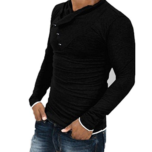 Mens Shirts,Haoricu Autumn Winter Fshion Long Sleeve Slim Fi