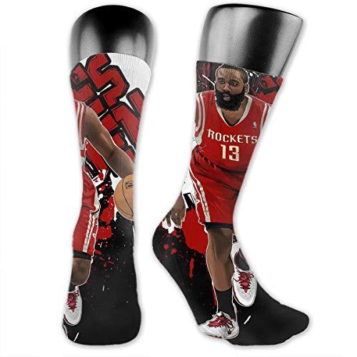 DLAZANA Harden 13# Basketball Player Crew Socks