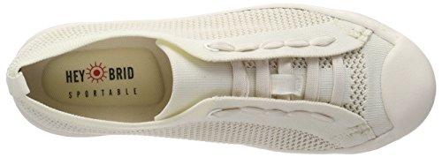 Zapatillas Weiß Weiß heybrid 5102020 Sneaker Mujer para qXRT5wZ