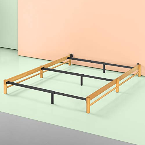 Newport Wood - Zinus Newport Adjustable Wood Compack Bed Frame, Full to King