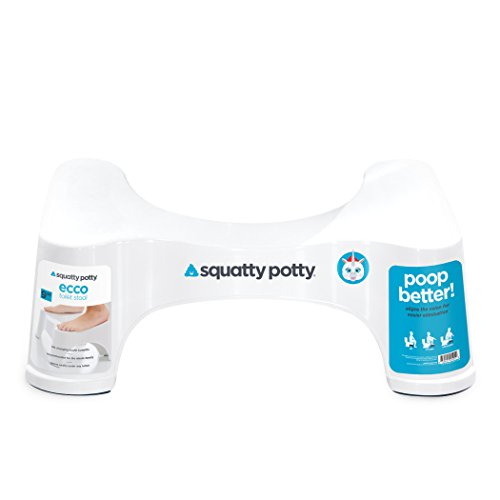 Large Product Image of Squatty Potty The Original Bathroom Toilet Stool, White, 9