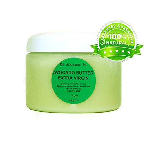 12 Oz Avocado Butter Extra Virgin Unrefined By Dr.Adorable Pure Raw
