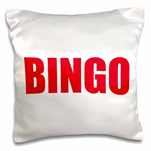 onepicebest Xander sports quotes - BINGO, white background - 18x18 inch Pillow Case by onepicebest