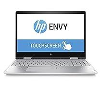 "HP 15-bp104nl Convertibile PC, i5-8250U, 12 GB di RAM, 512 GB SSD, Schermo 15,6"" FHD IPS Touchscreen, Argento Naturale [Layout Italiano]"