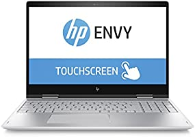"HP 15-bp104nl Convertibile PC, i5-8250U, 12 GB di RAM, 512 GB SSD, Schermo 15,6"" FHD IPS Touchscreen, Argento Naturale [Layout Italiano]"