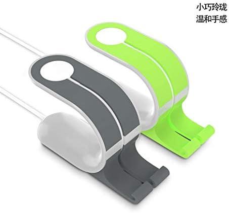 レイジー時計電話ホルダープレートPIA充電ベースの時計腕時計のデスクトップスタンド (Color : A)