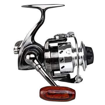 Spinfisher Metal - Fishing Reel Metal Spool Spinning Lightweight Powerful Freshwater Saltwater - 1PCs