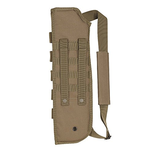 Voodoo Tactical Men's Breacher's Shotgun Scabbard, Coyote (Shotgun Short)