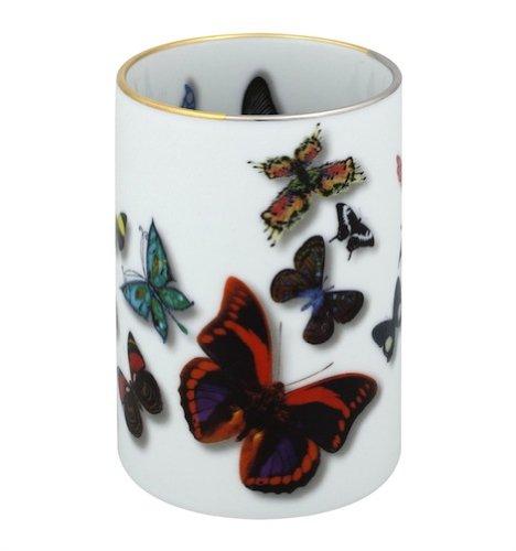 Vista Alegre - Christian Lacroix Butterfly Parade - Pencil Holder by Vista Alegre