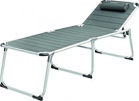 Silla de camping - Luxus - Silla plegable con reposapiernas ...