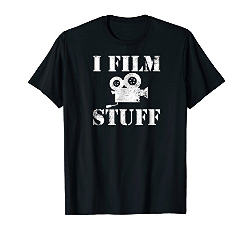 Filmmaker Shirt Funny Film Making Movie Director Gift Tee