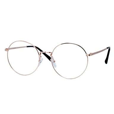 1920s Vintage Oliver rétro lunettes rondes 9116 Gold cadres Classic Eyewear RtZFTG