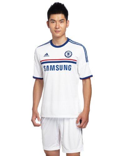 Chelsea 2013-14 adidas Mens Away Soccer Jersey White Medium