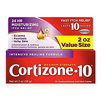 Cortizone-10 Intensive-Healing Formula 2 Ounce (Boxed) (59ml) (3 Pack) (2 Pack)
