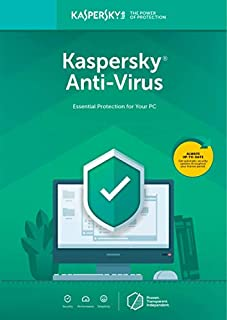 Kaspersky Anti-Virus 2018 1 Device/1 Year [Key Code] (B075KQXL96) | Amazon Products