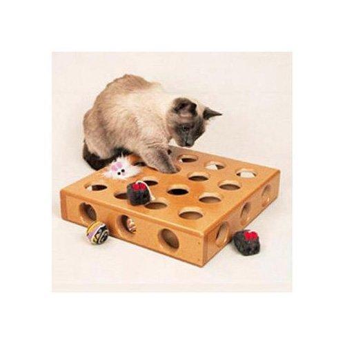 (SmartCat 3833 Peek-a-Prize Pet Toy Box)
