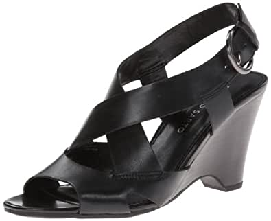 Franco Sarto Women's L-Tampico Dress Sandal,Black,8 M US