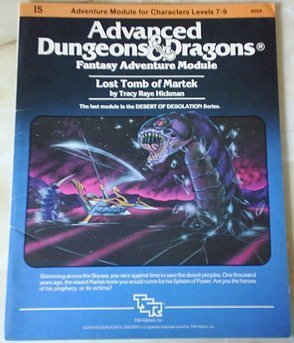 Advanced Dungeons and Dragons Module Tomb of Martek