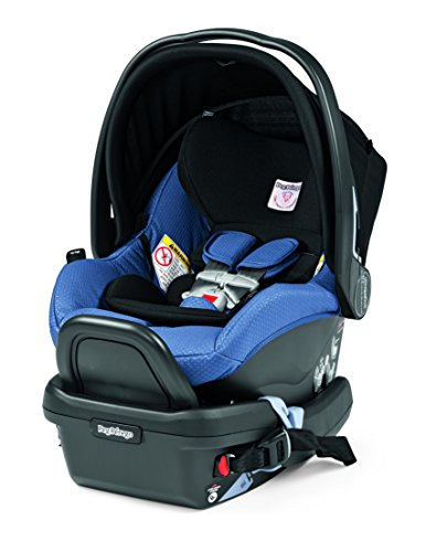 Peg Perego Primo Viaggio 4/35 Infant Car Seat with base, Mod Bluette