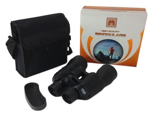 BINOCULARS 10 X 50 w/ Carrying Case Sporting Hunting Hiking
