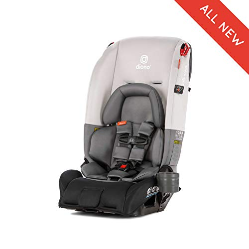 Diono Radian 3RX All-in-One Convertible Car Seat, for Children from Birth to 120 pounds, Light Grey