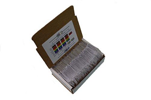 E-Projects EPC-109   85 Value Resistor Kit, 1 Ohm - 10M Ohm  (Pack of (1/4 Watt Carbon Film Resistors)