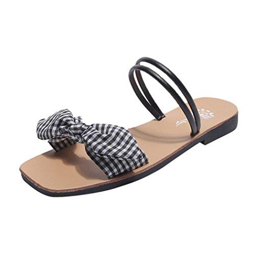 Pantoufles en taille Lolittas 2 tartan 7 les femmes Summer plates pour Beach 4AAWRzB