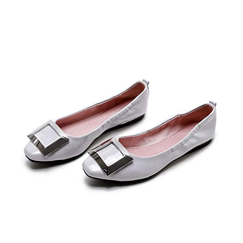 Sandales 5 Femme AdeeSu SDC05893 36 Blanc Compensées EU Blanc 5wwpF