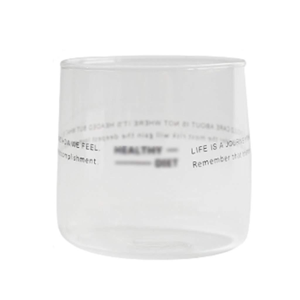 Bicchiere di cristallo Bicchiere Bicchiere Bicchiere Semplice Bicchiere Vetro resistente al calore Casalinghi Bicchiere da caffè Caffè Latte Tazza Succo di bibita Tazza di tè Bicchiere da bibita fredd Prezzi