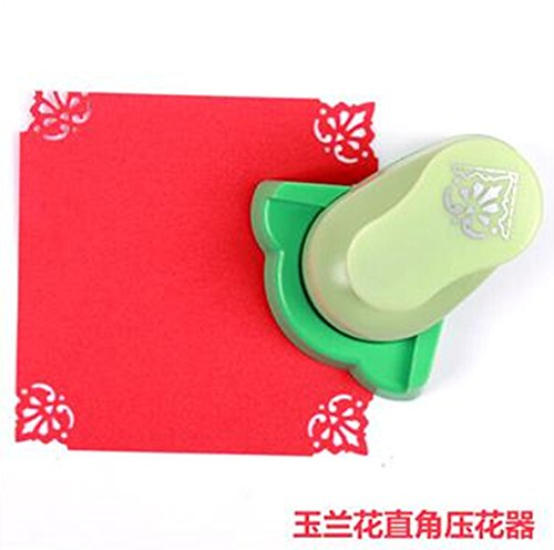 Somnr® Magnolia Level Corner Punch diy craft punch hole punch scrapbook paper cutter embossing cortador de papel de scrapbook