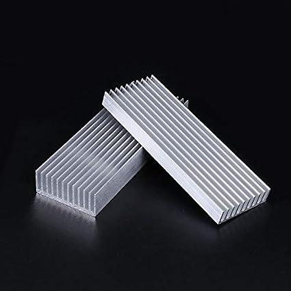 Kul-Kul Aluminum Heatsink For LED Electronic Heat Dissipation High Power Extruded Cooler