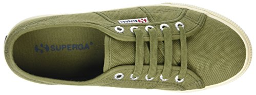 Superga 2790 Linea Updown Flatform Unisex-erwachsene Sneaker Grøn (grøn Capulet) 6dkLw