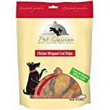 Pet Cuisine Dog Treats Puppy Chews Training Snacks,Chicken Wrapped Cod Strips