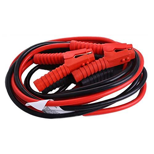 [해외]쳉 저장소 순수 구리 코어 부스터 점퍼 케이블 7 게이지 X 10 피트 1800A 헤비 듀티 부스터 점퍼 케이블 / Cheng-store Pure Copper core Booster Jumper Cable 7 Gauge X 10 Feet 1800A Heavy Duty Booster Jumper Cables