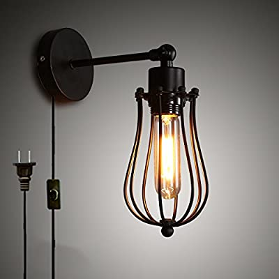 Kiven Industrial Retro Nostalgic Wall Sconces Creative Loft Art Decoration Bar Cafe Shop Wall Light
