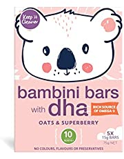 Keep It Cleaner Oats & Superberry Bambini Bars with DHA for 10 Months+ 75 g