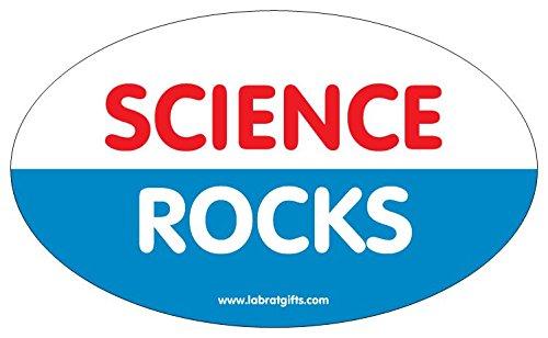 Lab Rat Gifts BS040 VinylScience Rocks Sticker