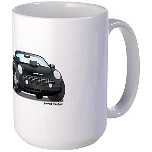 - CafePress - 2002 05 Ford Thunderbird Blk Large Mug - Coffee Mug, Large 15 oz. White Coffee Cup