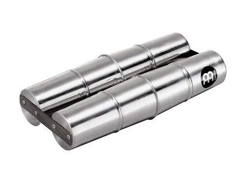 Meinl Percussion SSH2-L Aluminum Double Samba Shaker, Large by Meinl Percussion