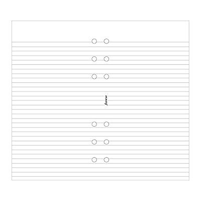 Filofax Ruled White Paper (B133008)