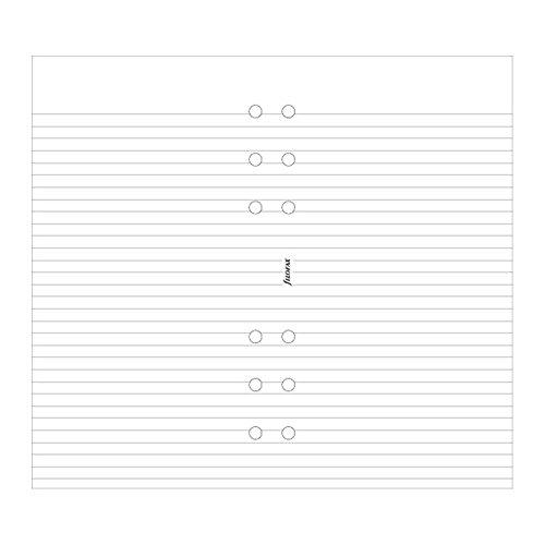 - Filofax Ruled White Paper (B133008)