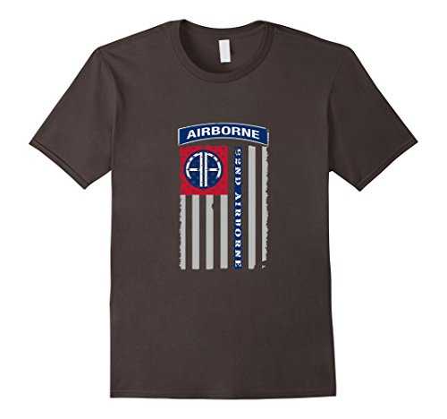 82nd-Airborne-Veteran-Paratrooper-American-Flag-T-shirt