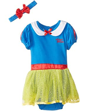 Baby Girls' Snow White Dress with Headband